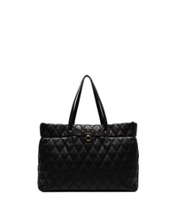 Givenchy Black Duo Quilted Tote Bag