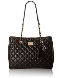 Calvin Klein Quilted Leather Tote Bag