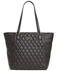 Vera Bradley Ella Quilted Leather Tote