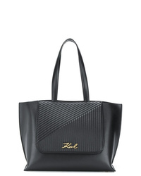 Karl Lagerfeld Ksignature Quilted Tote Bag
