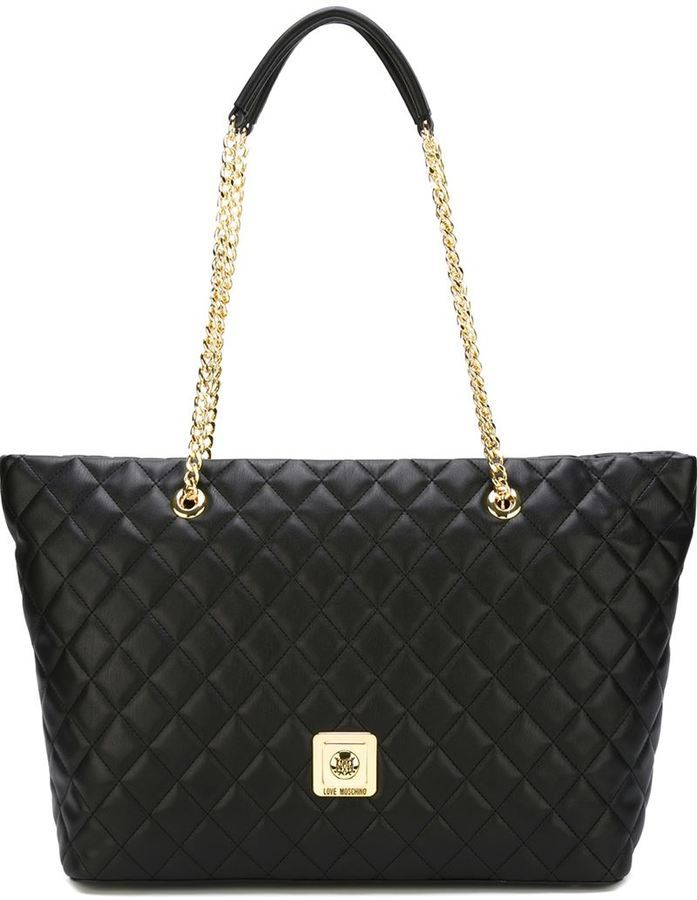 e87aabe67 Quilted Shopper Tote