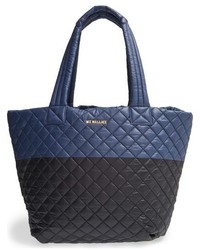 Medium metro quilted oxford nylon tote medium 1005852
