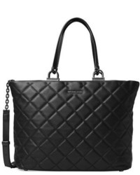 MICHAEL Michael Kors Michl Michl Kors Quilted Large East West Leather Tote