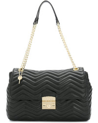 Twin-Set Quilted Chain Tote