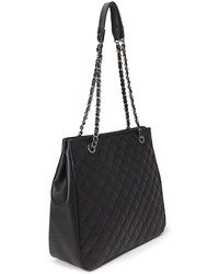 Forever 21 Quilted Faux Leather Tote