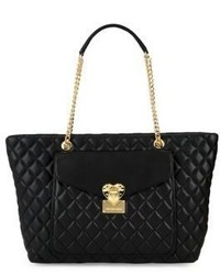 Love Moschino Quilted Leather Tote