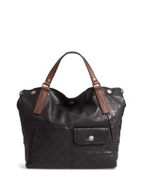 Frye Samantha Quilted Leather Tote