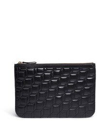 Pierre Hardy Medium Cube Quilted Leather Pouch