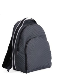 Jo quilted nylon backpack grey medium 4401247