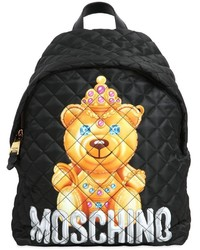 Moschino large teddy bear quilted nylon backpack medium 1033585
