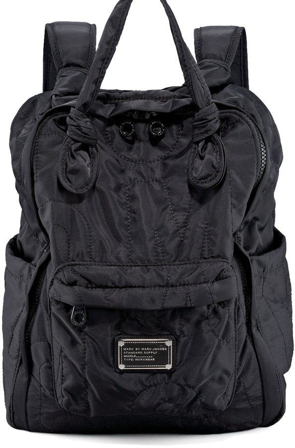 65bed161ad94e ... Marc by Marc Jacobs Pretty Nylon Backpack Black ...