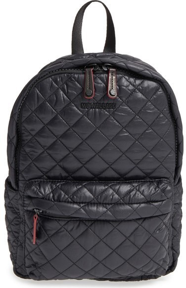 673187f069 ... Quilted Nylon Backpacks MZ Wallace Small Metro Backpack ...