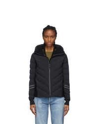 Canada Goose Black Black Label Hybridge Bomber Jacket