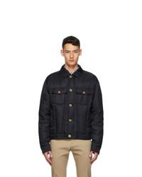 Versace Black Down Blouson Jacket