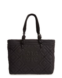 Tory Burch Small Fleming Quilted Nylon Tote