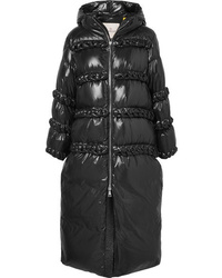 Moncler Genius 6 Noir Kei Ninomiya Stitched Quilted Shell Down Coat