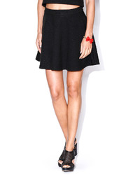 e5ce7a0799 Black Quilted Skater Skirts for Women   Women's Fashion   Lookastic.com