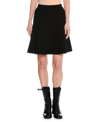 Tomas Maier Quilted A Line Short Skirt