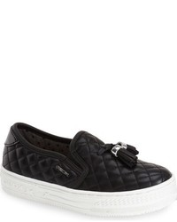 Geox Highrock Quilted Slip On Sneaker