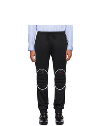 Gucci Black Jersey Loose Jogging Lounge Pants
