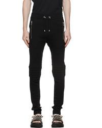 Balmain Black Logo Lounge Pants