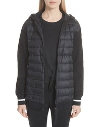 Moncler Maglia Quilted Front Sweatshirt
