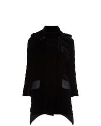 Fendi Quilted Velvet Coat