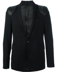Quilted shoulder blazer medium 779466