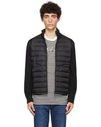 Moncler Black Down Zipper Jacket