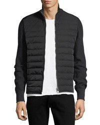 Tom Ford Quilted Zip Front Cardigan