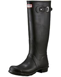 Black Rain Boots