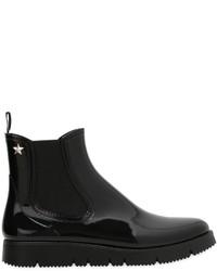 RED Valentino 20mm Pvc Shiny Rain Boots