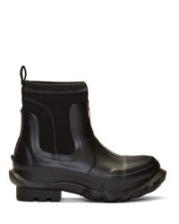 Stella McCartney Black Edition Rain Boots