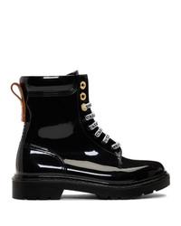 See by Chloe Black Florrie Rain Boots