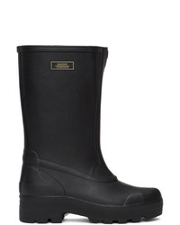 Suicoke Black Tamb B Rubber Boots