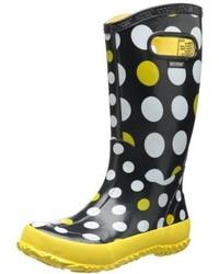 Bogs Kids Dots Waterproof Rain Boot