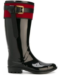 Burberry Buckle Detail Rainboots