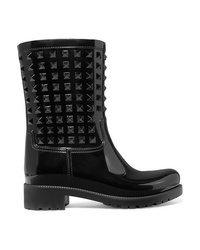 Valentino Garavani The Glossed Rubber Rain Boots