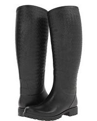 Bottega Veneta High Top Rain Boot Rain Boots
