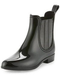 Kada rubber rain bootie black medium 756138