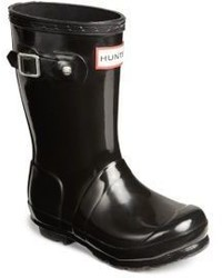 Hunter Kids High Gloss Original Tall Rain Boots