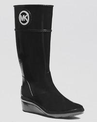 MICHAEL Michael Kors Michl Michl Kors Wedge Rain Boots Stockard