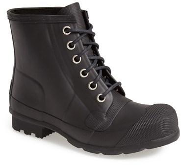 Hunter Original Lace Up Rain Boot, $165