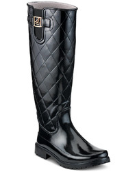 Sperry Pelican Tall Quilted Rain Boots