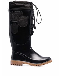 DSQUARED2 Rain Lace Up Knee High Boots