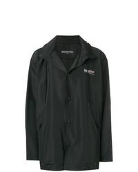 Balenciaga Archetype Printed Raincoat