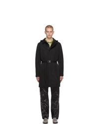 1017 Alyx 9Sm Black Econyl Hooded Blazer Coat