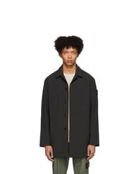 Stone Island Black Ghost Mac Coat