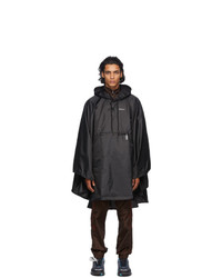 Off-White Black Lightweight Packable Raincoat