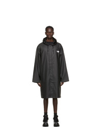 Vetements Black Limited Edition Raincoat